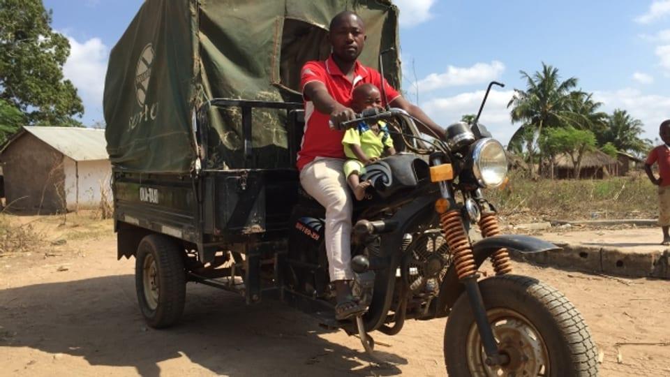 Ghilerme Frances Feliciano, Miralene (Mozambik): «Ich bin gleichzeitig Taxi- und Ambulanzfahrer»