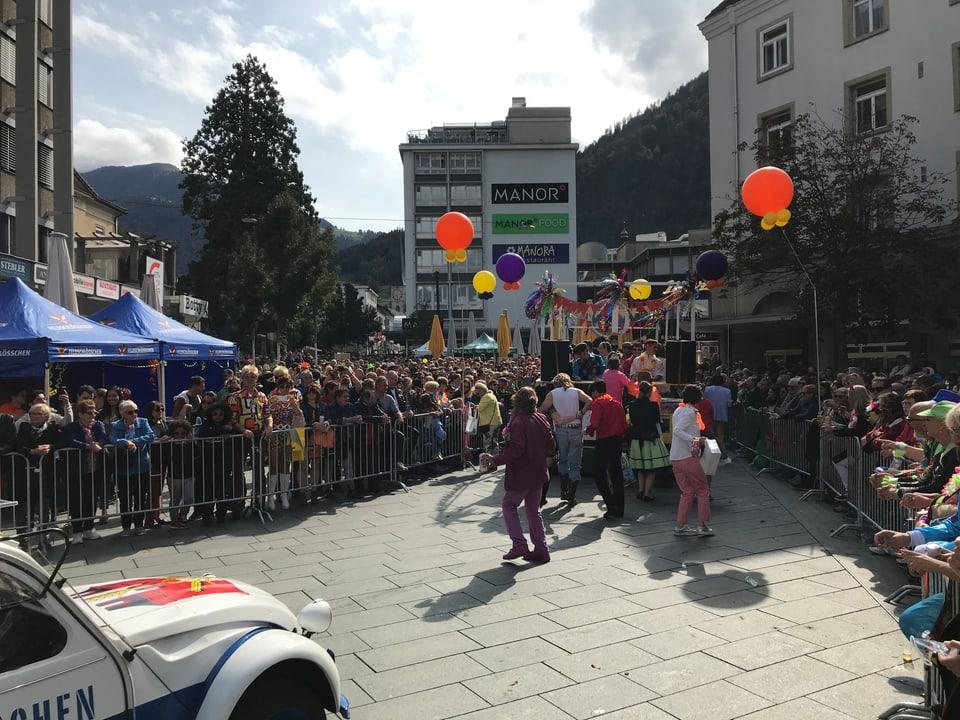 Polizei zieht positive Bilanz von der Schlagerparade in Chur