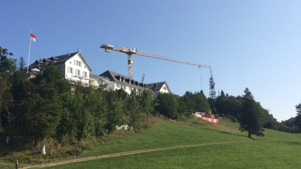 Das Kurhaus auf dem Weissenstein.