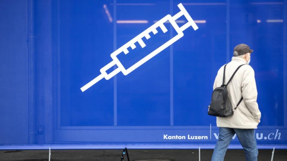 Im Kanton Solothurn haben sich erst wenige für eine Impfung registriert.