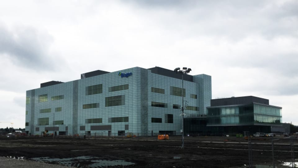Biogen-Fabrik in Luterbach SO