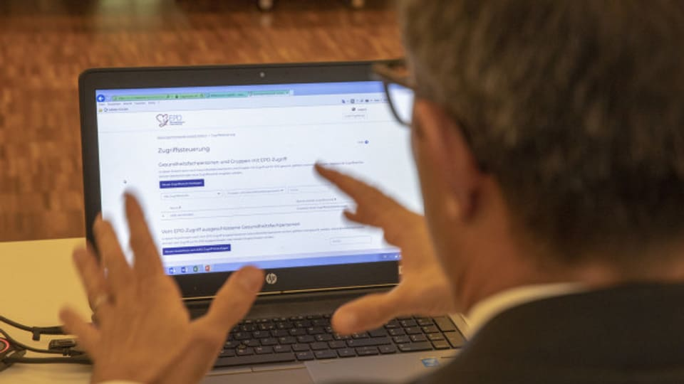 Das elektronische Patientendossier ist bisher nur im Kanton Aargau verfügbar.