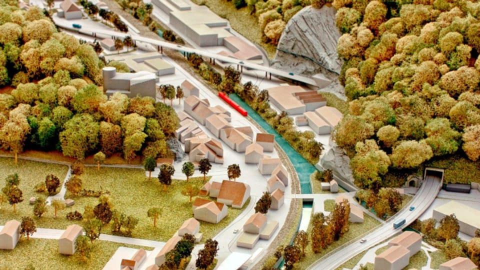 Mit einem Viadukt und einem Tunnel soll die 74 Mio. Franken teure Umfahrung Klus die Verkehrsprobleme zwischen Oensingen und Balsthal lösen.