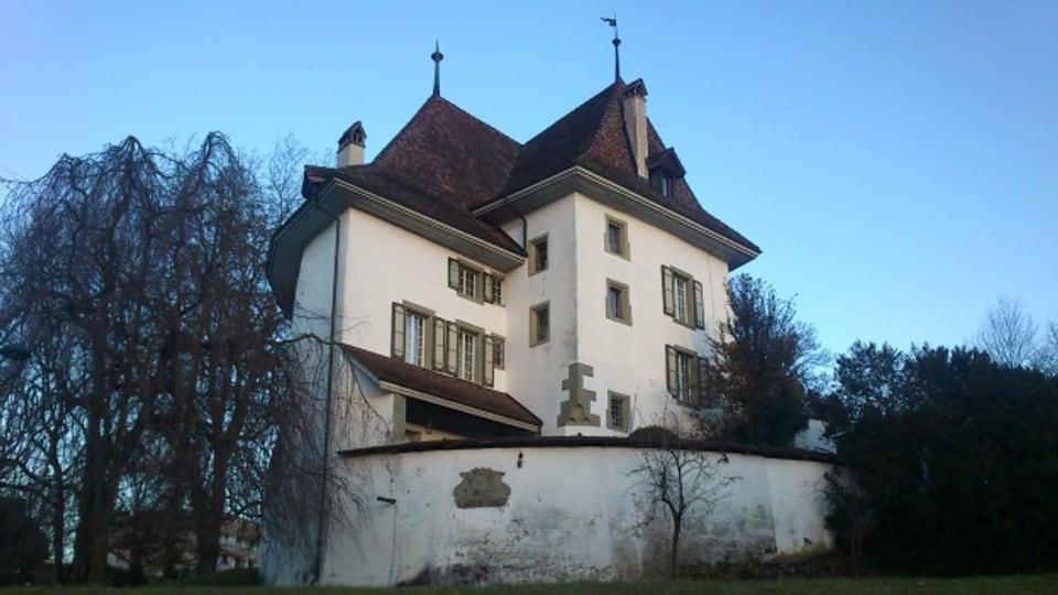 Das Schloss Münsingen - eines der Objekte im Inventar der Denkmalpflege.
