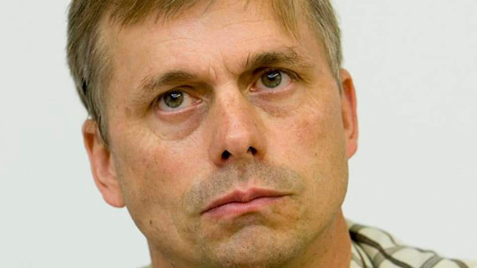 Der Walliser Jagdinspektor Peter Scheibler.