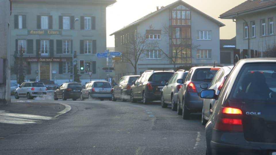 Tag für Tag stauen sich die Fahrzeuge in der Region Burgdorf.