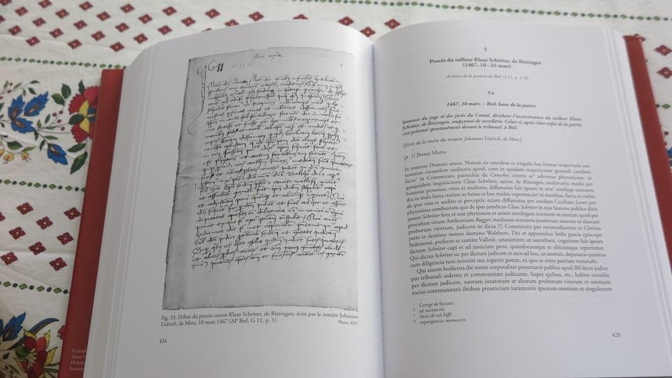 Das Buch beleuchtet ein düsteres Kapitel der Walliser Geschichte