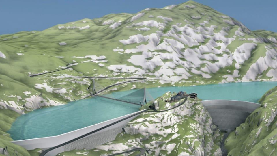 So wie geplant können die Mauern des Grimselstausees nicht erhöht werden, sagt das Bundesgericht.