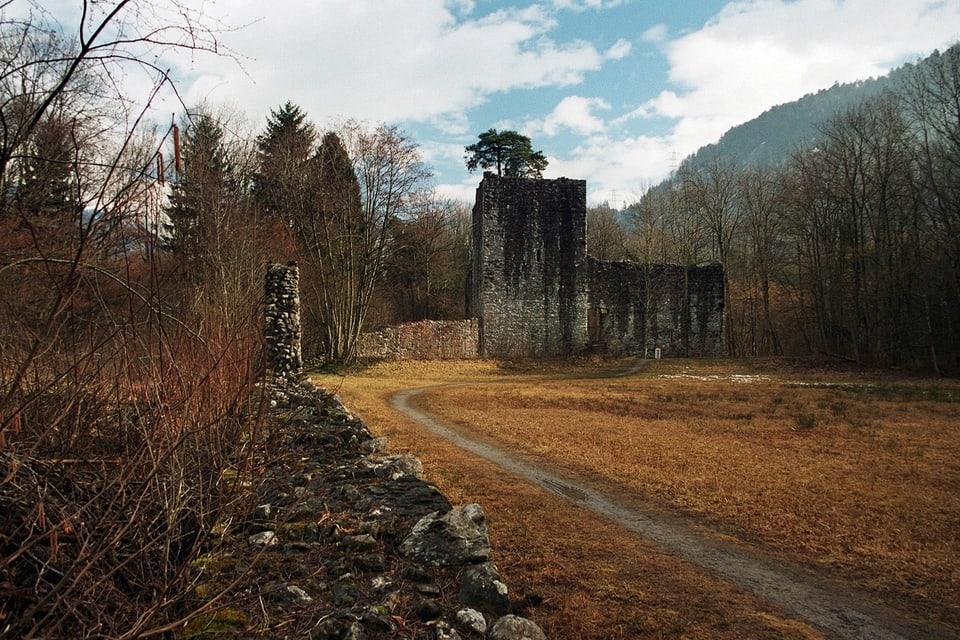 Tatort: Ruine Weissenau