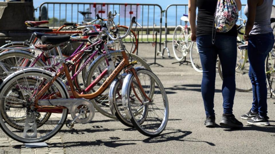 Werden immer beliebter: alte Fahrräder.