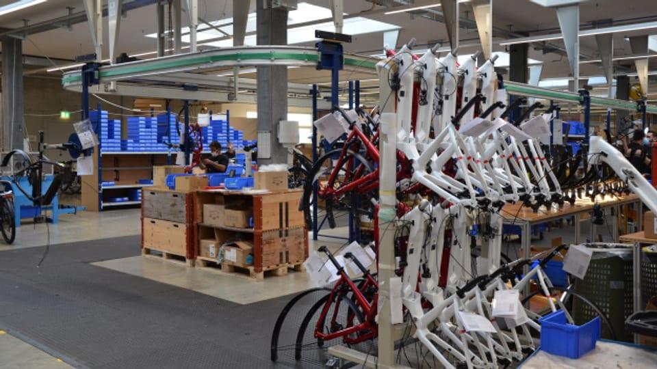 Der E-Velohersteller Flyer hat wegen der grossen Nachfrage seine Produktion ausgebaut.