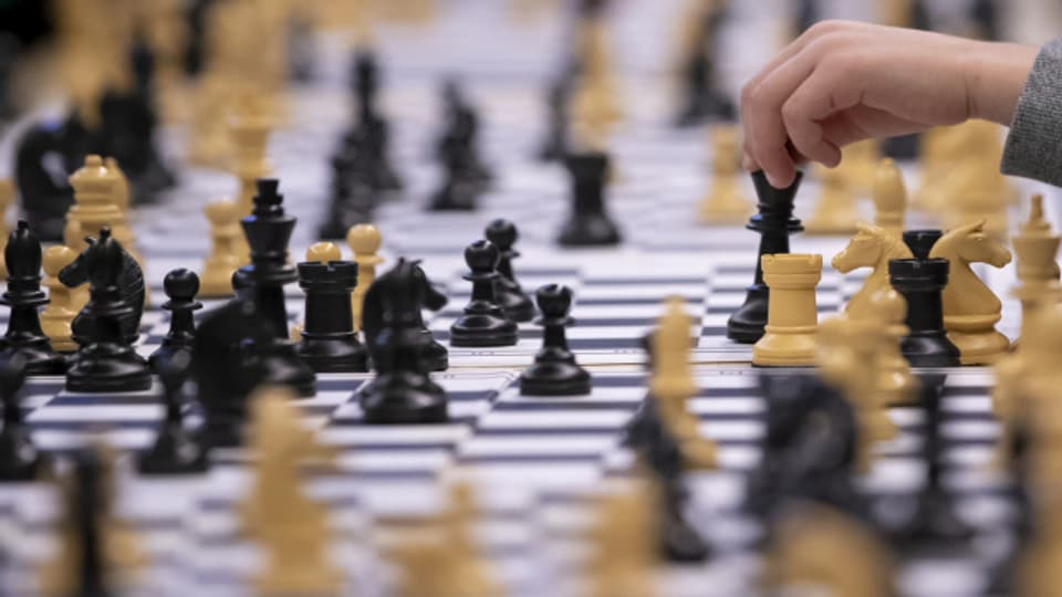 Schachspielen ist en vogue