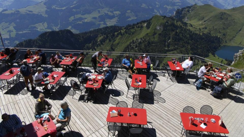 Wie letzten Sommer auf dem Stockhorn - Restaurant-Terrassen dürfen wieder öffnen