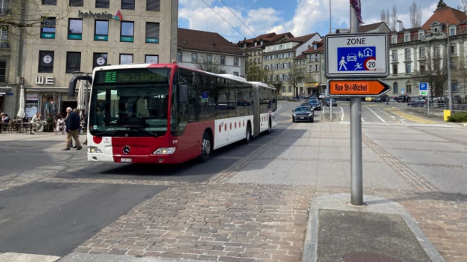 Die Verkehrsbetriebe Freiburg wehren sich gegen Temporeduktion