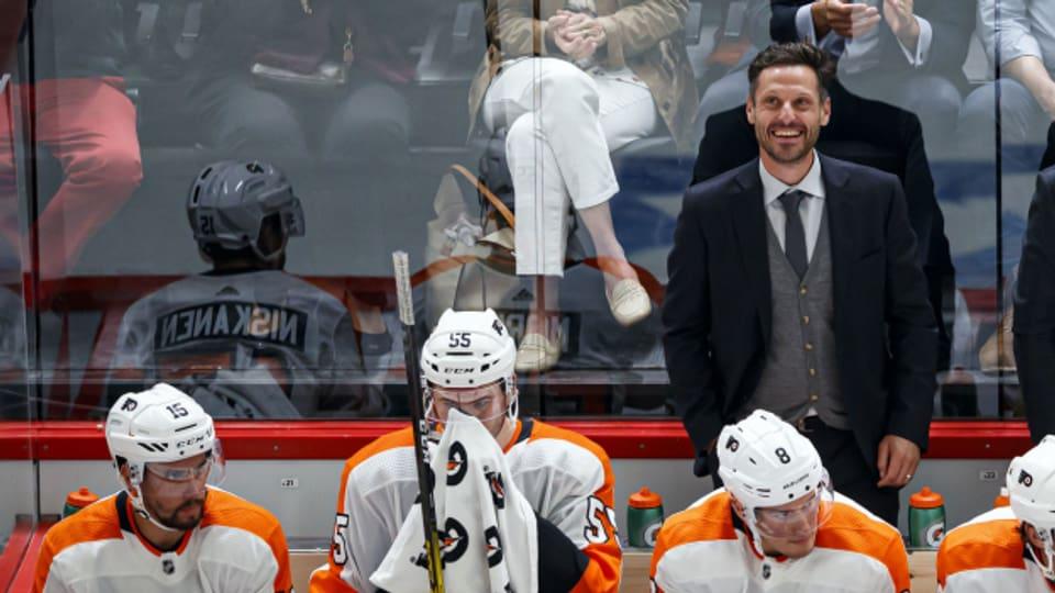 Mark Streit spielte jahrelang in der NHL und war Captain der Schweizer Nati. Hier bei einem NHL-Spiel 2019.