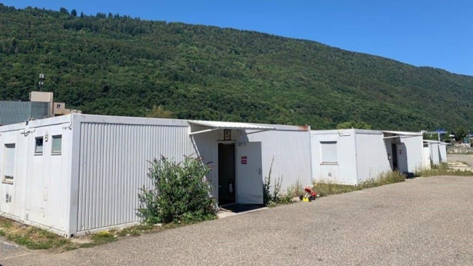 Das Rückkehrzentrum für Asylsuchende in Biel-Bözingen ist umstritten,