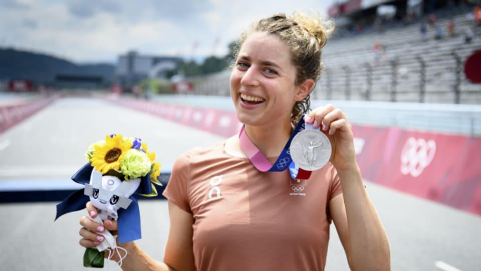 Marlen Reusser aus Hindelbank holt die Silbermedaille in Tokio