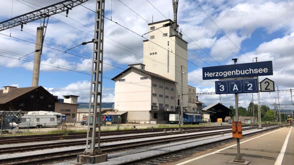 Verdichtetes Bauen: Neben dem Bahnhof soll in Herzogenbuchsee ein neues Quartier entstehen.