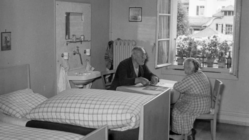 1949 war Kühlewil noch eine Fürsorgeanstalt
