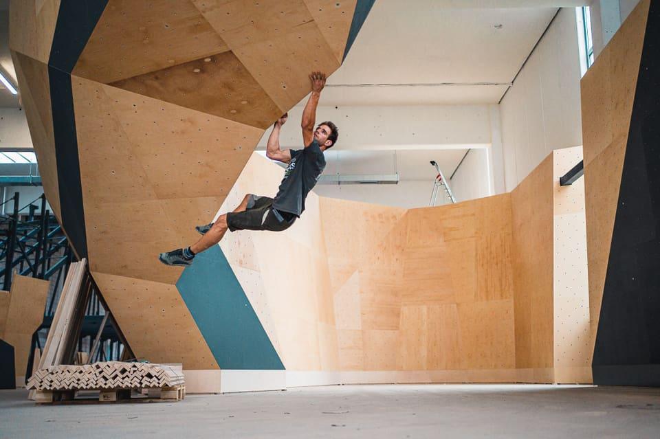 So sieht die neue Basler Boulderhalle aus