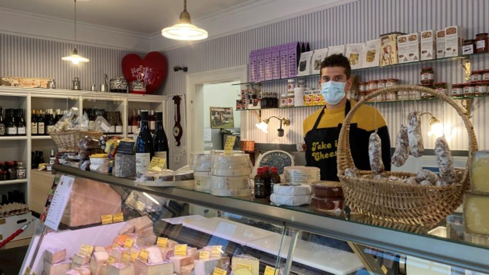 Wirth's Huus, der Käseladen in Basel.