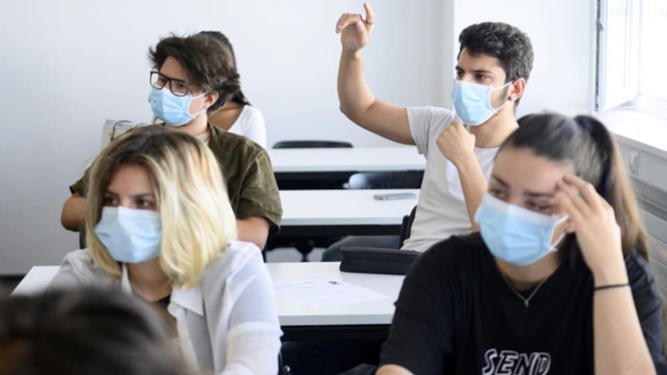Im Baselbiet müssen Schulkinder ab der 5. Klasse eine Maske tragen