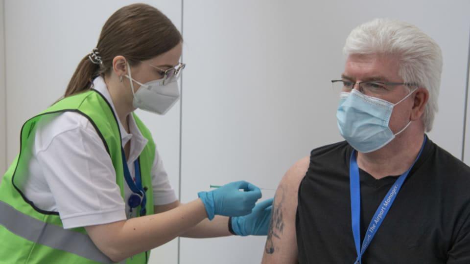 Durcheinander beim Impfen in Basel