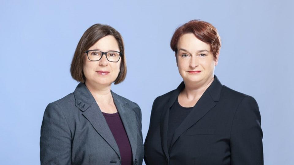"""Zweimal """"Erste Staatsanwältin"""": Jacqueline Bannwarth und Patrizia Krug"""