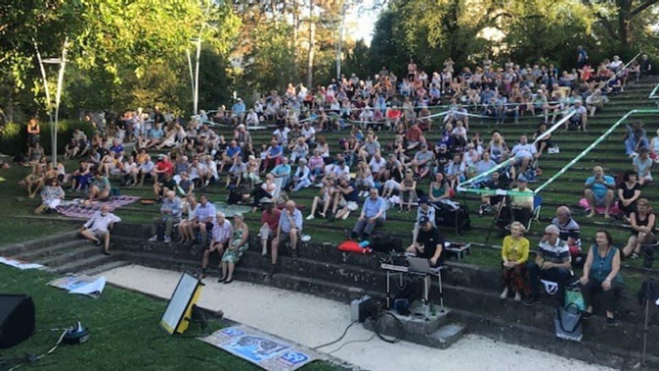 Die «Summersprosse»-Konzerte finden jeweils im Kannenfeldpark statt.