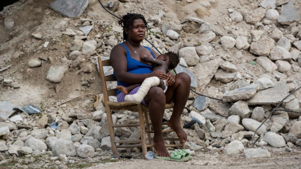 Etwa in den Wiederaufbau Haitis nach dem Erdbeben könnte das Geld fliessen