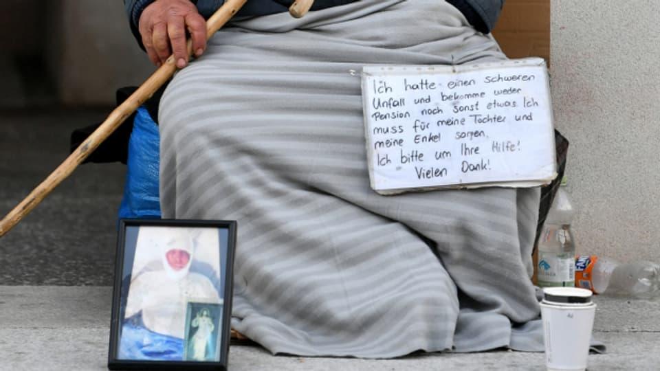 Ausgedehntes Bettelverbot gilt in Basel  ab 1. September
