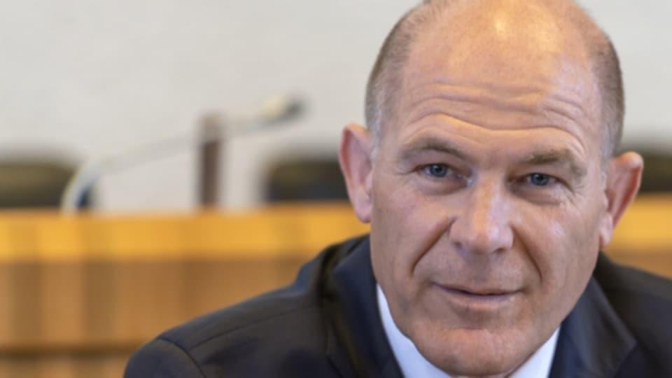Regierungsrat Anton Lauber hat die Steuerreform heute Morgen vorgestellt.