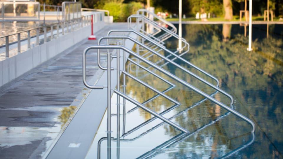 Blieben diesen Sommer immer wieder leer: Die Schwimmbecken des Gartenbad St. Jakob.