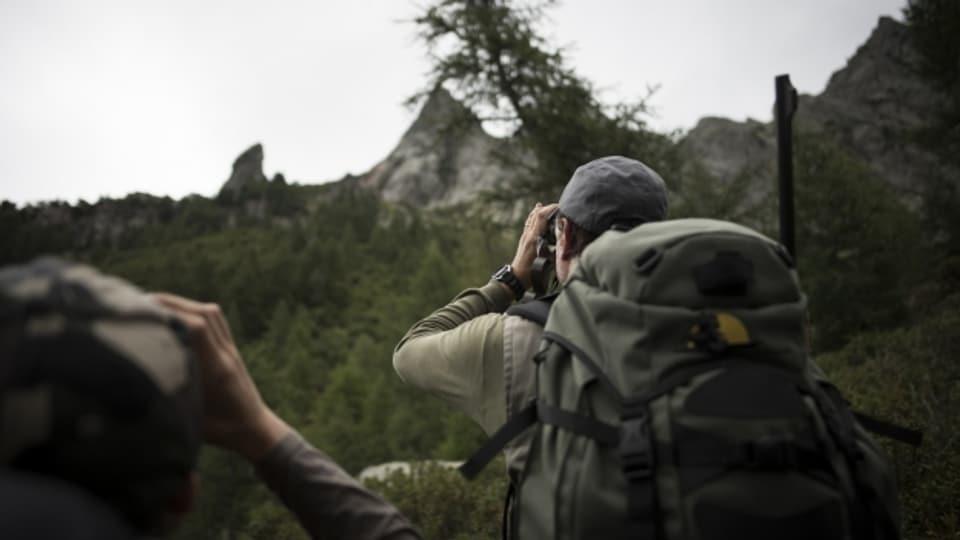 Die Jagd im Kanton Graubünden hat einen hohen Stellenwert.
