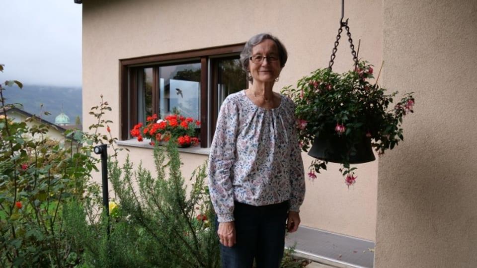 Christine Pozzoli pflegte lange Zeit ihren behinderten Sohn.