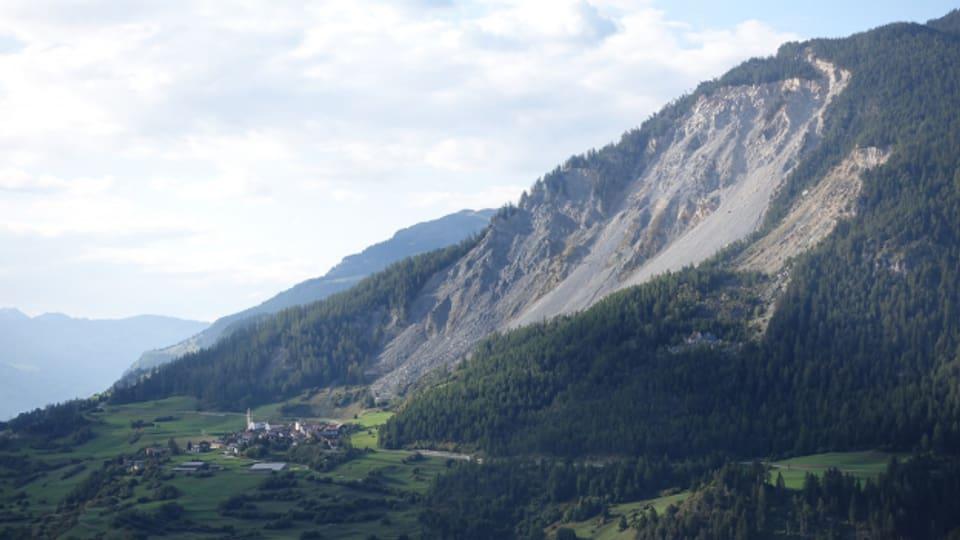 Das Bergdorf Brienz im Albulatal