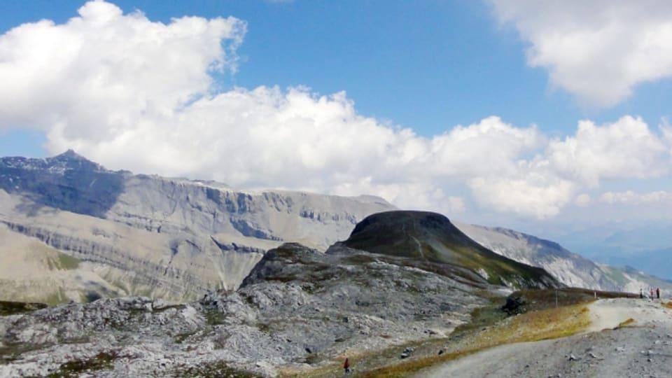 Vom Cassons hat man einen guten Ausblick in die Tektonikarena Sardona