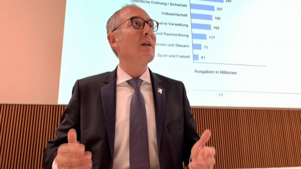 Der Bündner Finanzdirektor.
