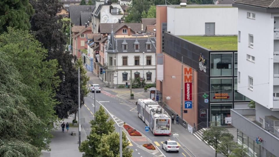 Der Lärmpegel auf der Kantonsstrasse in Kriens übersteigt regelmässig die erlaubten Grenzwerte.