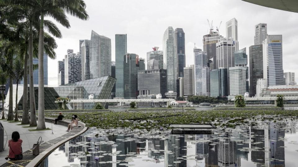 Südostasien statt Zentralschweiz: Das WEF findet 2021 in Singapur statt