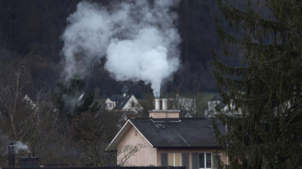 Heizungen verursachen Luftverschmutzung