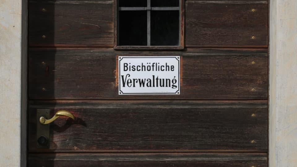 Der Sitz des Bistums in Chur