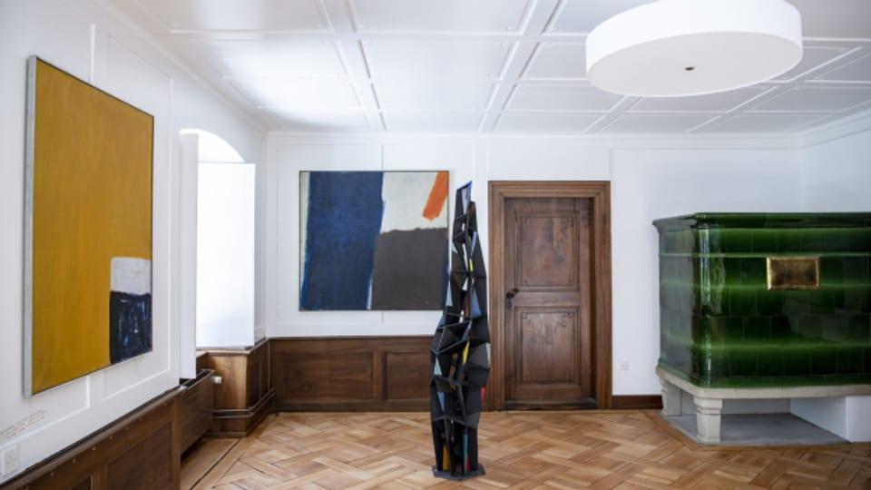 Blick in die Ausstellung in Stans.