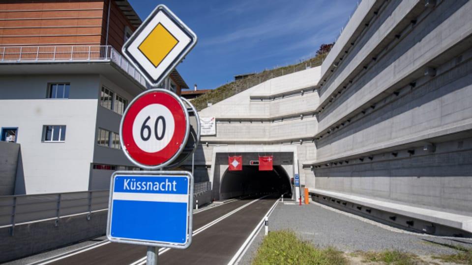 Der erste Tunnel für die Südumfahrung wurde letzten Herbst fertiggestellt.