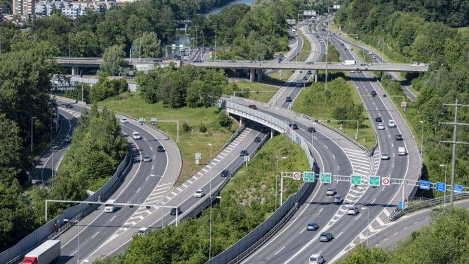 Mit dem Bypass will der Bund den Verkehr rund um Luzern entlasten.