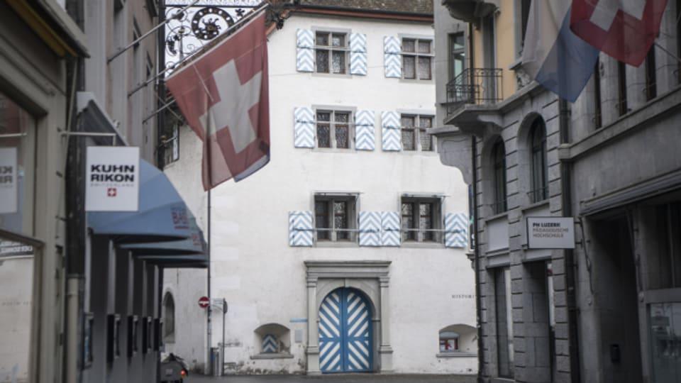 Alleine das Historische Museum in Luzern zählte rund 800 Besucherinnen und Besucher.
