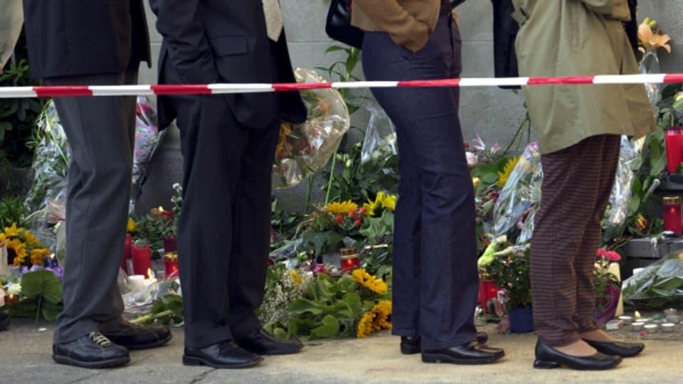 Das Attentat im Kantonsrat Zug jährt sich zum 20. Mal.