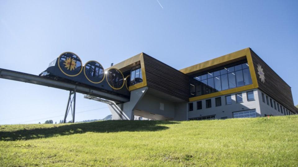 Die neue Stoosbahn wurde im Dezember 2017 eröffnet.