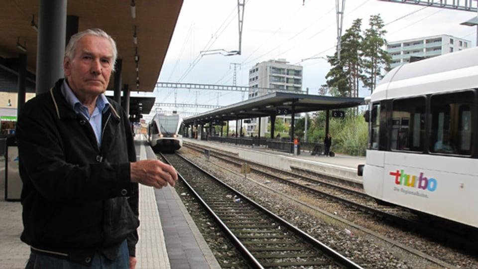 Wolfgang Schreier, engagierter Kämpfer für den grenzüberschreitenden öV.