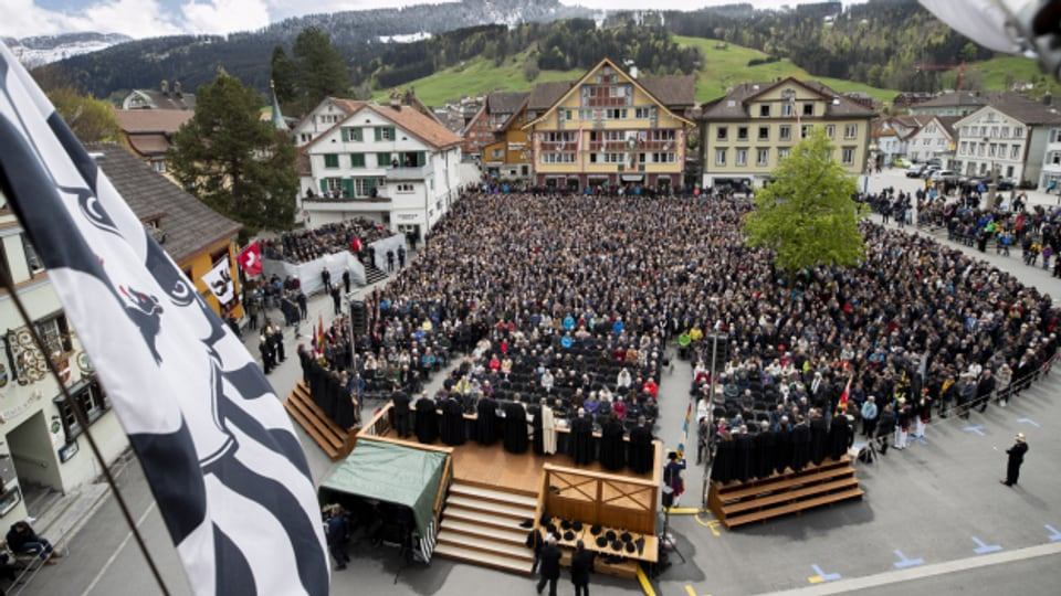 Bereits zum zweiten Mal in Folge wurde die Landsgemeinde in Appenzell Innerrhoden abgesagt.